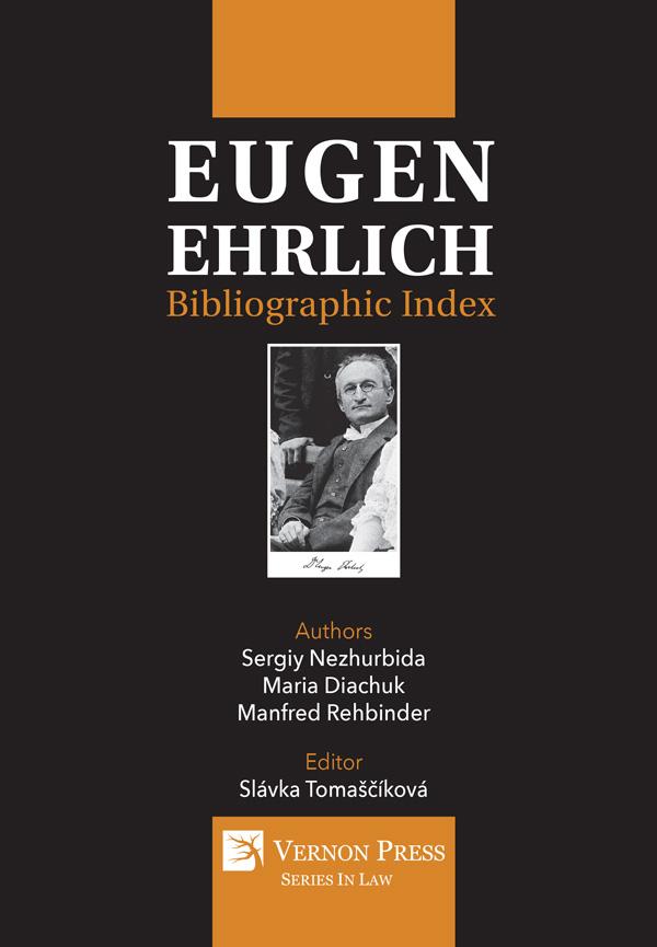 Vernon Press - Eugen Ehrlich: Bibliographic Index [Hardback