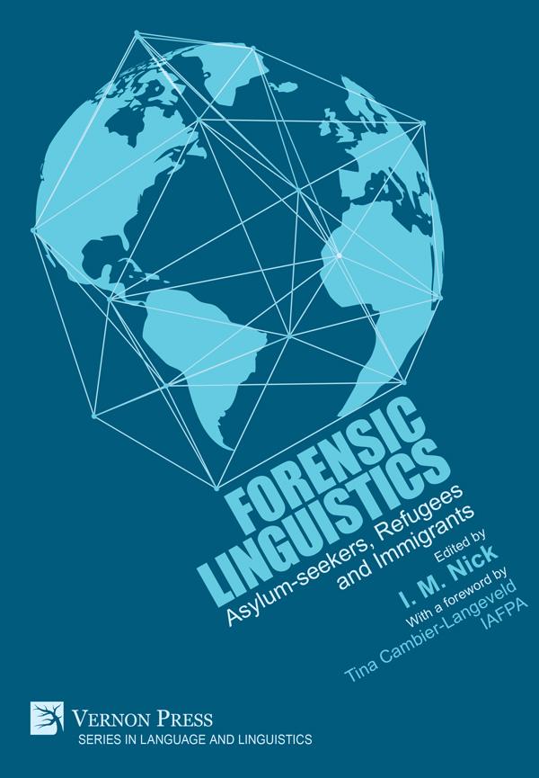 Vernon Press Forensic Linguistics Hardback 9781622731282